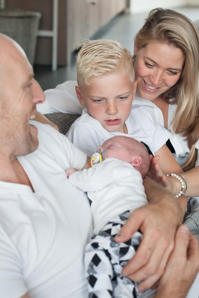 lifestylefotografie newborn
