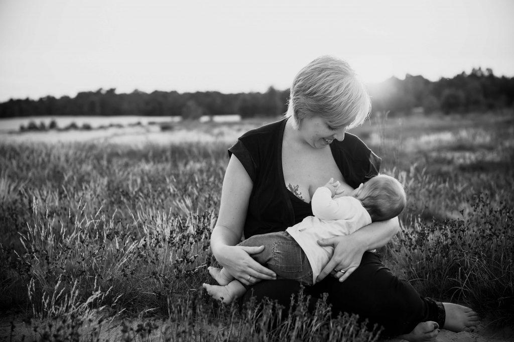 Borstvoedingsfotografie Noord Brabant